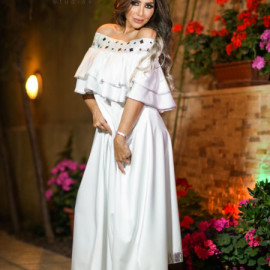 كشخة | فستان Off Shoulder