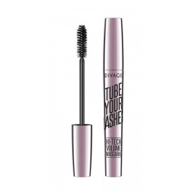DIVAGE |  tube your lashes hi-tech volume mascara