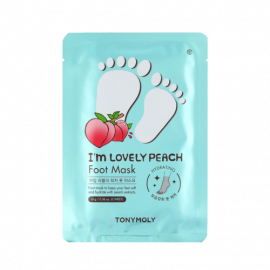 TONYMOLY | I'm Lovely Peach Foot Mask