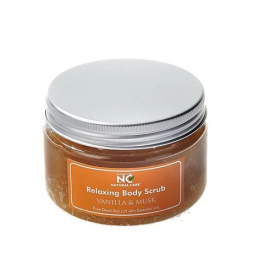 NATURAL CARE | DEAD SEA Relaxing Body scrub with Vanilla Musk oil