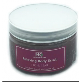 NATURAL CARE | DEAD SEA Relaxing Body scrub with Fig Pear oil