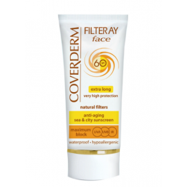 COVERDERM | Coverderm Filteray Face SpF 60 Extra Long Very High Protection Cream 50ml